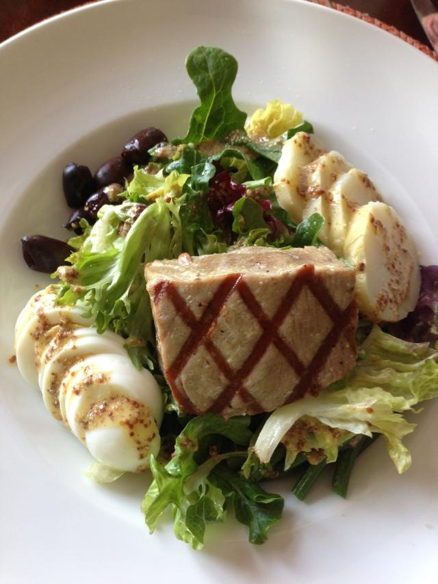 2013 03 26 Nicoise salad Rosewood Hotel Bermuda