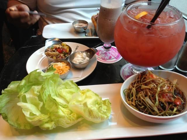 2013 06 14 Deville dinerbar salad wraps
