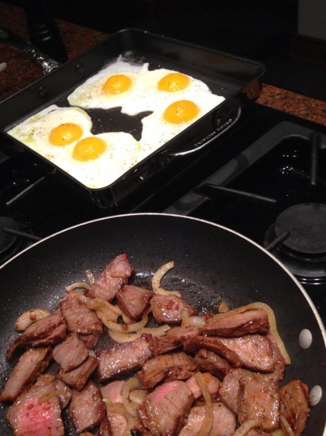 2013 07 11 Steak and eggs