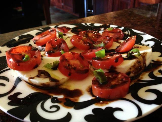 2013 08 18 Caprese salad