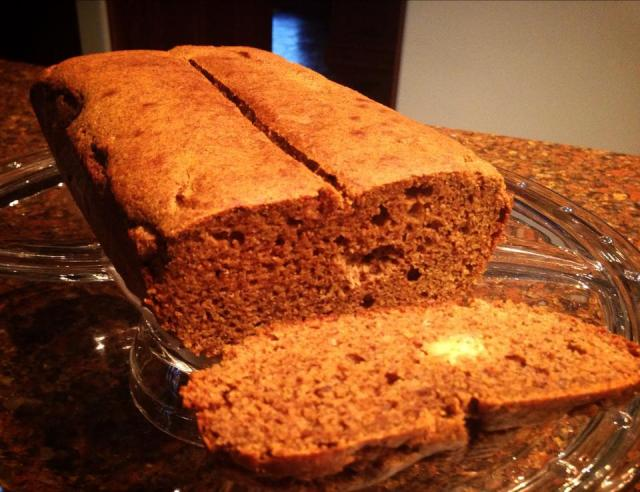 2013 11 22 Chai pumpkin bread