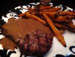 2014 01 11 - Peppercorn encrusted steaks with peppercorn sauce