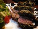 2014 01 21 Herb encrusted rack of lamb